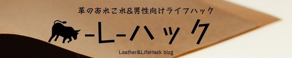 革の知識&男性向けライフハック
